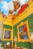 Salon of  Abundance is Versailles. VERSAILLES, FRANCE - JULY 02, 2016 : Salon of  Abundance is on the first floor of the Chateau de Versailles Stock Photos