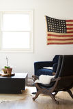 Salon americana image stock