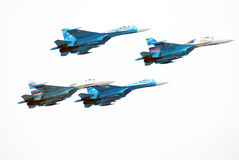 Salon aérospatial international MAKS-2013 Images stock