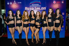 Salon automatique international 2015 de Bangkok Photos stock