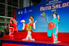 Salon automatique international 2015 de Bangkok Photo stock