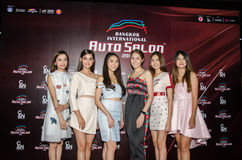 Salon automatique international 2016 de Bangkok Photographie stock libre de droits