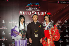 Salon automatique international 2016 de Bangkok Photographie stock
