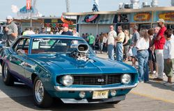 Salon automobile Photo stock
