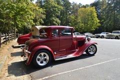 Salon automobile classique Images libres de droits