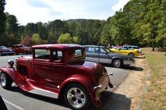 Salon automobile classique Photo libre de droits