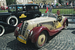 Salon automobile de Leopolis Grand prix Photos stock