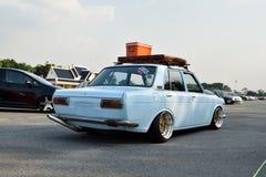 Salon automobile de modifications au 4ème anniversaire de Flushstyle thaïlandais Photographie stock libre de droits