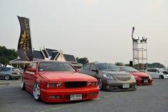 Salon automobile de modifications au 4ème anniversaire de Flushstyle thaïlandais Photo libre de droits