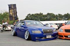 Salon automobile de modifications au 4ème anniversaire de Flushstyle thaïlandais Images stock