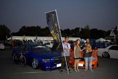 Salon automobile de modifications au 4ème anniversaire de Flushstyle thaïlandais Photos libres de droits