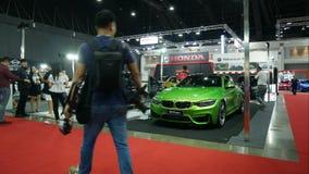Salon automobile modifié à Bangkok Ausalon international 2018 clips vidéos