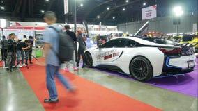 Salon automobile modifié au salon automatique international 2018 de Bangkok clips vidéos