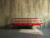 Salon avec le sofa Image libre de droits