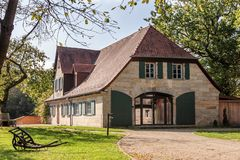 Salon Bayreuth de Walhall Images libres de droits