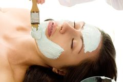 Salon-Behandlung Lizenzfreie Stockfotografie