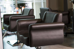 Salon chair Royalty Free Stock Photo