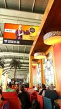 Salon Chatrapati Shivaji Mumbai Airport de départ Image stock