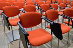 Salon conference chairs Stock Image