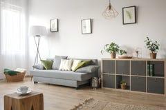 Salon confortable avec le sofa images stock