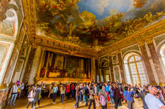 Salon d'Hercule, Versailles Palace, Paris, France Royalty Free Stock Photography