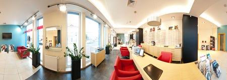 Salon d'opticien Photographie stock