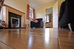 Salon dans la maison BRITANNIQUE Images libres de droits