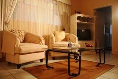 Salon dans une maison de hôtes Photo stock
