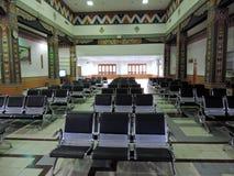 Salon de attente à l'aéroport de Paro, Bhutan Photo libre de droits