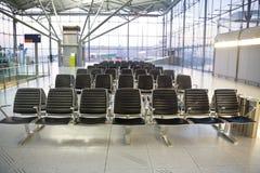 Salon de attente dans l'aéroport Cologne Image libre de droits