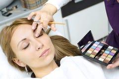 Salon de beauté photo stock