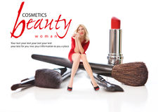 Salon de beauté. Concept Photo libre de droits