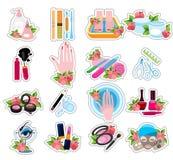 Salon de beauté d'icônes Images libres de droits
