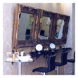 Salon de beauté de luxe Photographie stock libre de droits