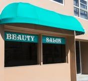 Salon de beauté pour les hommes et des femmes image stock