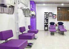 Salon de cheveu images libres de droits