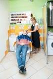 Salon de cheveu Photos libres de droits