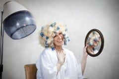 Salon de cheveu Photographie stock
