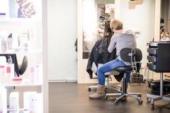 Salon de coiffure Photo stock
