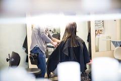 Salon de coiffure Image stock