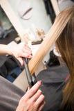 Salon de coiffure Photos stock