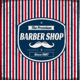 Salon de coiffure rétro Image stock