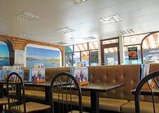 Salon de crème glacée de restaurant de café Photo stock