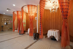 salon de décoration de beauté Images libres de droits