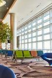 Salon de départ à l'aéroport de Singapour image libre de droits