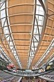 Salon de départ dans le terminal 2 à l'aéroport Hambourg Images stock