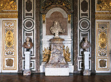 Salon de Dianas au palais de Versailles Image libre de droits
