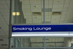 Salon de fumage Photographie stock libre de droits