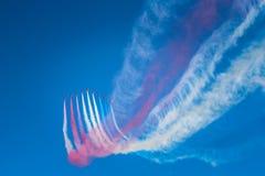 Salon de l'aéronautique à Malte Images libres de droits