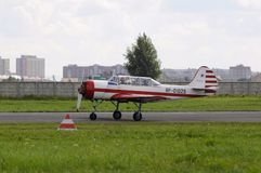 Salon de l'aéronautique Photographie stock libre de droits